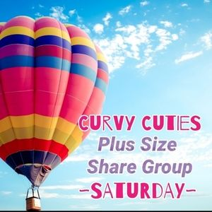 Tops - 6/6 PLUS SIZE SHARE GROUP: CURVY CUTIES